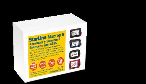 Комплект управления брелоком для StarLine AS96