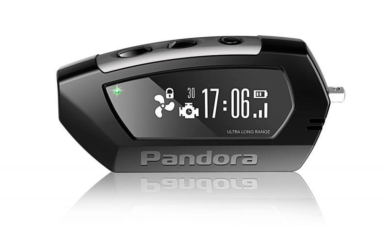 Брелок LCD Pandora D010 black