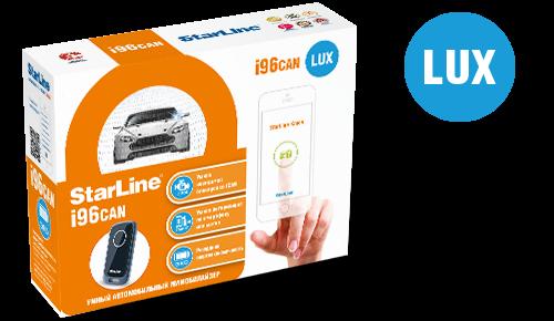 StarLine i96 CAN Lux c установкой