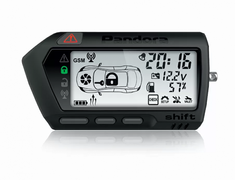 Pandora LCD DXL 707 black