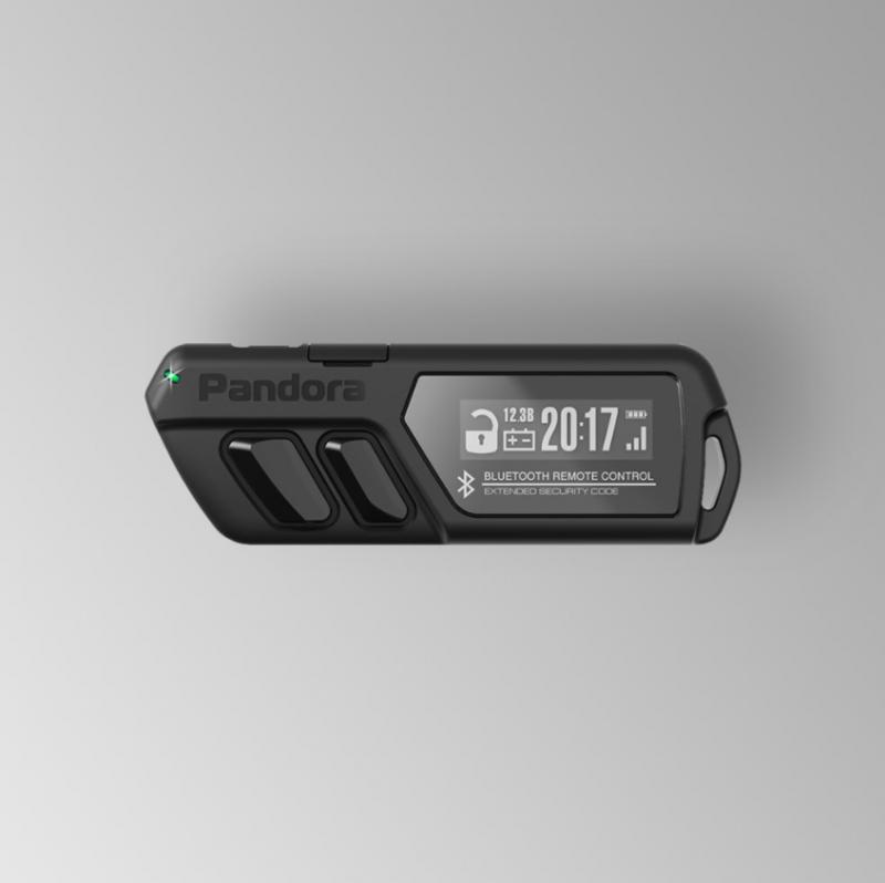 Брелок LCD D030 black